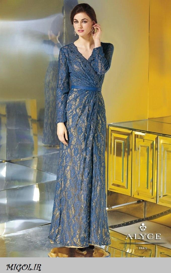 لباس مجلسی دانتل