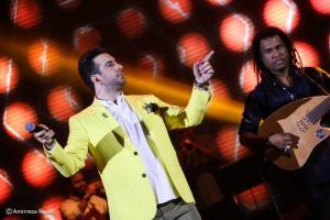 گزارش تصویری کنسرت 16 شهریور امید حاجیلی