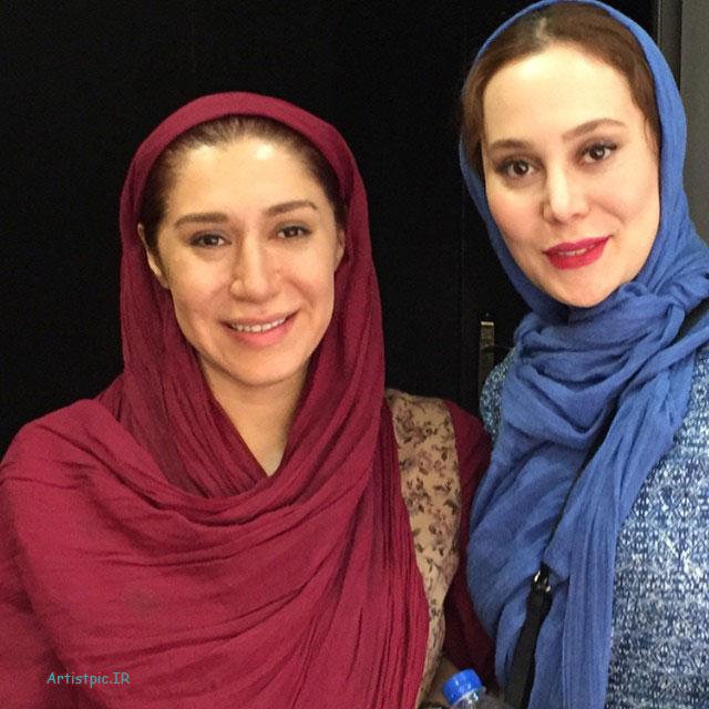 عکس جدید آرام جعفری و نسیم ادبی
