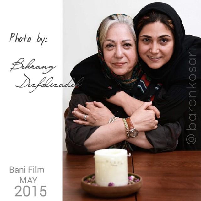 عکس های باران کوثری و مادرش