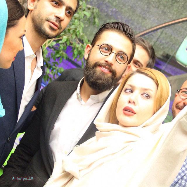 عکس نازنین کریمی و محسن افشانی