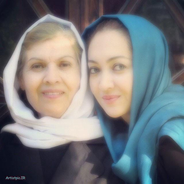 عکس های نیکی کریمی و مادرش