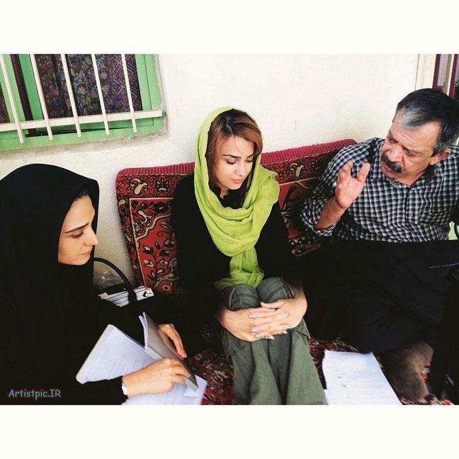 عکس های ساناز نوروززاده بازیگر سریال تنهایی لیلا