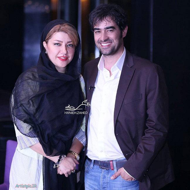 عکس شهاب حسینی و همسرش