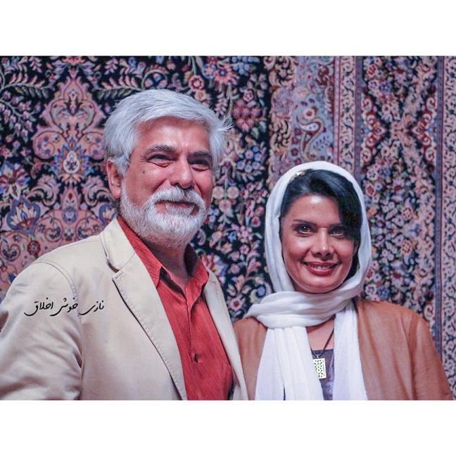 عکس حسین پاکدل و همسرش عاطفه رضوی