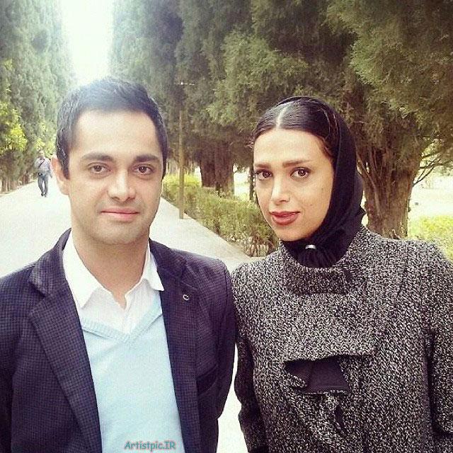 عکس اشکان اشتیاق و همسرش