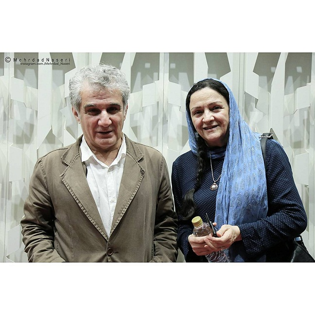 عکس مهدی هاشمی و همسرش گلاب آدینه