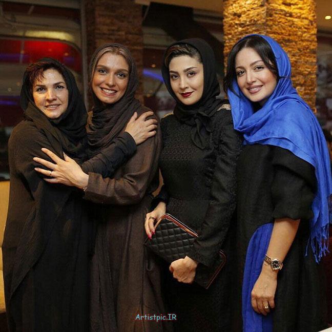 عکس های جدید شیلا خداداد و مریم معصومی و الیکا عبدالرزاقی
