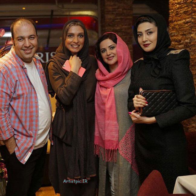 عکس های جدید مریم معصومی و کمند امیرسلیمانی و الیکا عبدالرزاقی