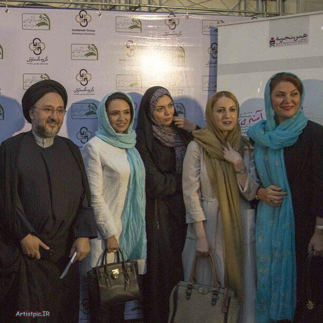 عکس های لاله اسکندری و شقایق فراهانی و آزاده نامداری و گلاره عباسی