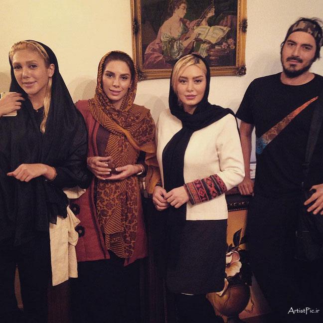 عکس های خوشگل سحر قریشی و نیما شاهرخ شاهی