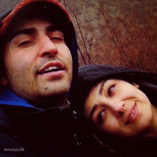 عکس های جدید و جذاب ویدا جوان و همسرش