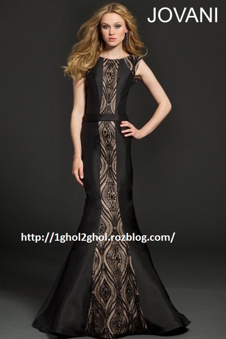 مدل لباس مشکی  مجلسی زنانه