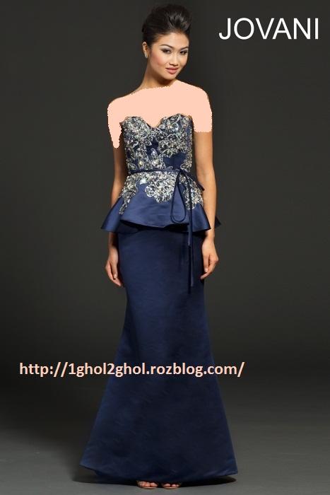 مدل لباس شب زنانه 2014