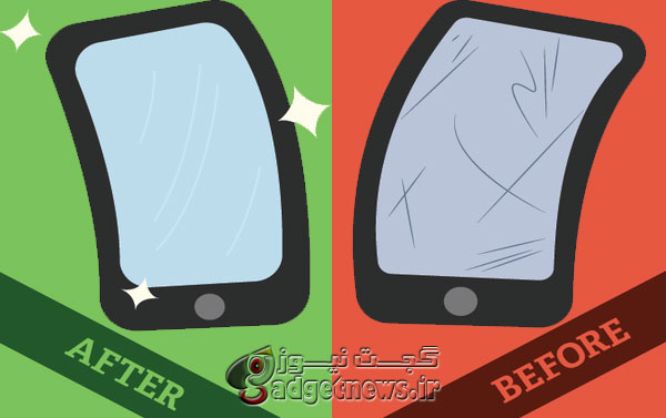 8 روش ساده و کاربردي براي از بين بردن خط و خش های آزار دهنده روی نمايشگر گوشی شما