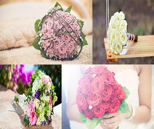 جدیدترین عکس ها از دسته گل ها برای مراسم عروسی