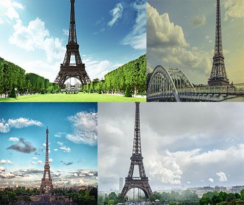 جدیدترین و قشنگترین عکس ها از برج ایفل  ( سری 2 )