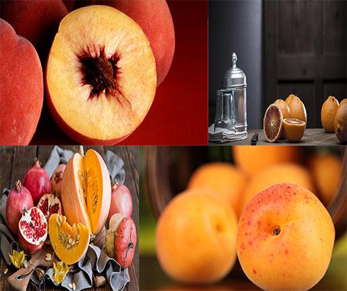 عکس های فوق العاده زیبا از میوه ها و خوراکی ها