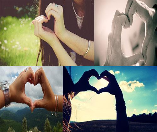 جدیدترین و بهترین عکس های عاشقانه با موضوع قلب