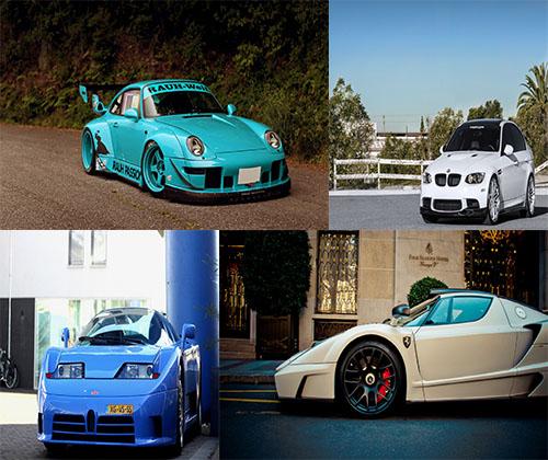جدیدترین عکس های فوق العاده زیبا از ماشین های مدل بالا