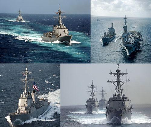 جدیدترین و بهترین عکس ها از کشتی ها و ناوهای جنگی