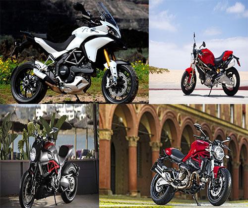 عکس های جدید و فوق العاده زیبا از موتور های دوکتاتی