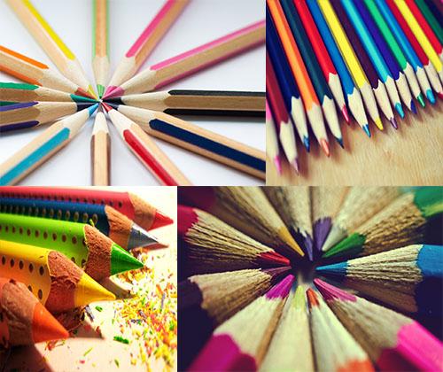 والپرهای جدید و فوق العاده زیبا از مداد رنگی ها