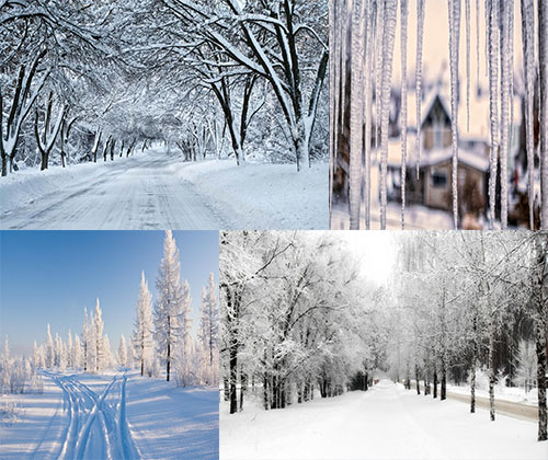 جدیدترین و بهترین عکس ها از برف ها و یخبندان