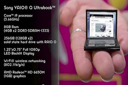 کوچکترین و بزرگترین لپ تاپ