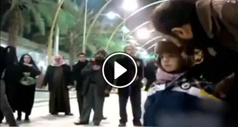 دانلود نوحه و مداحی پسر بچه چهار ساله در کربلا