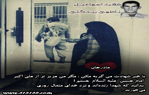 شهید اسماعیل ناظمی بیدگلی