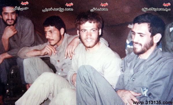 گل محمدی در جبهه