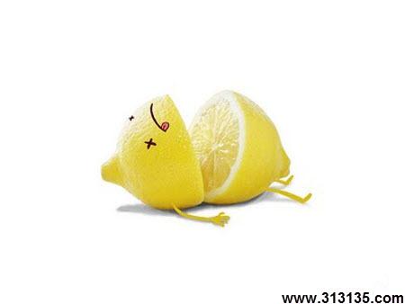 عکس خنده داری میوه