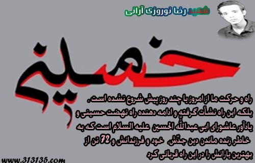 شهید رضا نوروزی آرانی