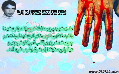 شهید سید محمد حسین زاده آرانى