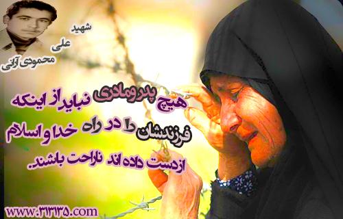 شهید علی محمودى آرانى