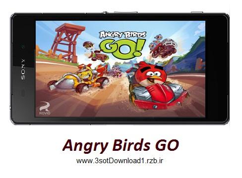 دانلود بازی پرندگان خشمگین Angry Birds Go! v1.3.2 برای اندروید
