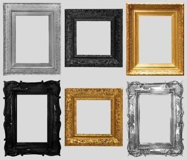 دانلود قاب عکس های چوبی آنتیک با فرمت png