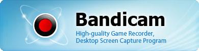 فیلم برداری از دسکتاپ با نرم افزار Bandicam 1.9.4.505