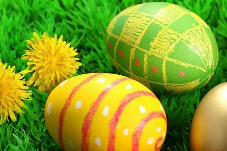 مجموعه دوم تصاویر تزئین تخم مرغ سفره هفت سین