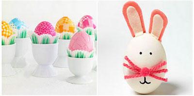 مجموعه ای تصاویر تزئین تخم مرغ سفره ۷ سین