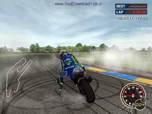 دانلود بازی موتورسواری سرعتی Moto GP3
