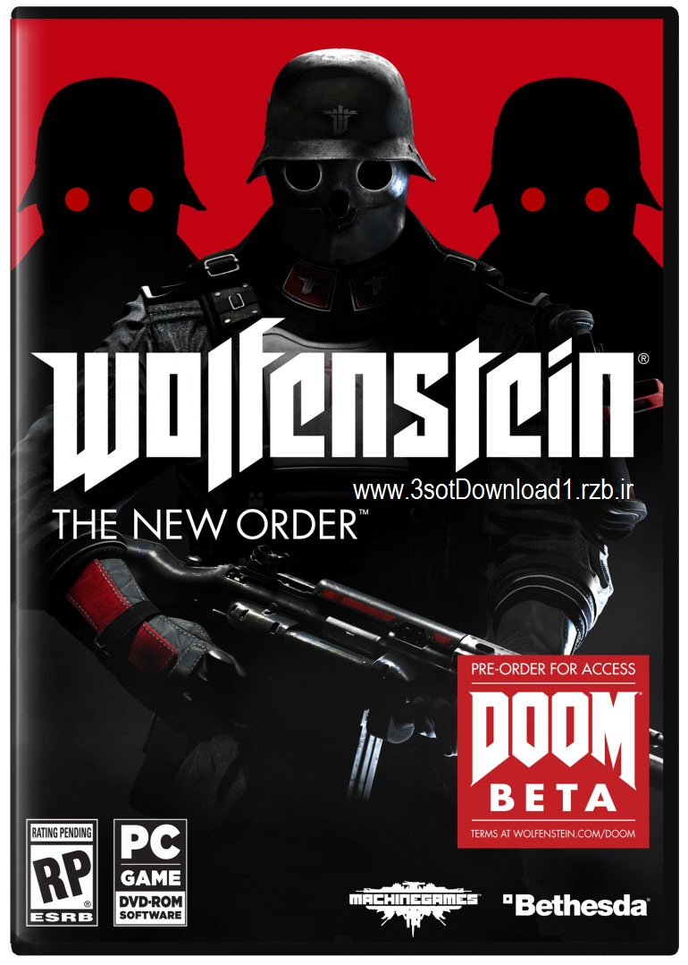 خرید پستی بازی Wolfenstein The New Order برای کامپیوتر