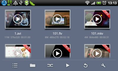 پخش ویدیو با MoboPlayer v1.3.260-اندروید