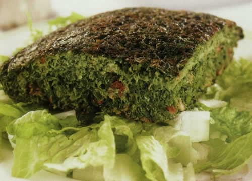 طرز تهیه کوکو سبزی