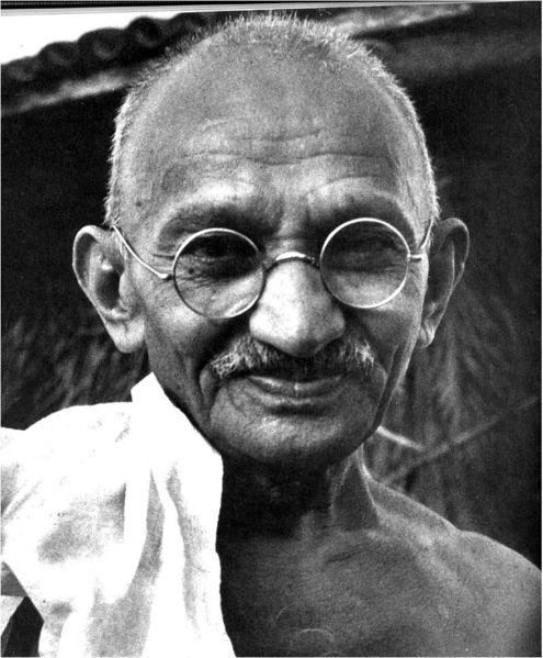 جملات کوتاه و حکیمانه ی ماهاتما گاندی