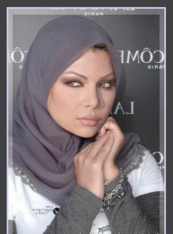 هیفا وهبی با شال و ظاهر باحجاب !  haifa wahbe photos