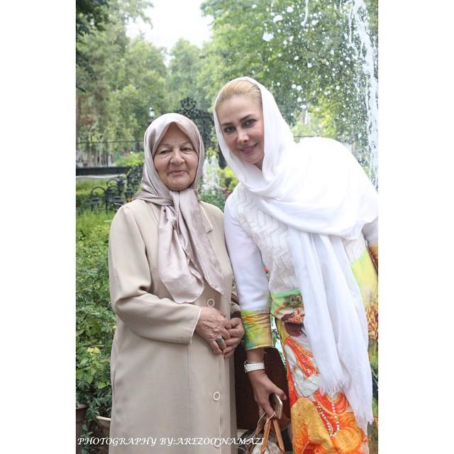 عکس آنا نعمتی در اکران تابستانی فیلم انارهای نارس