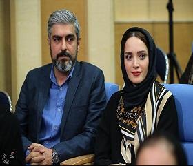 مهدی پاکدل و بهنوش طباطبایی در ضیافت افطار رییس جمهور