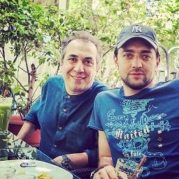 عکس جدید بهرام رادان و سیامک انصاری